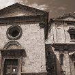 Perugia Churches. Umbria. - Stock Photo