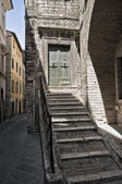 Historic House. Perugia. Umbria. — Stock Photo