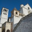 St. Francesco Basilica. Assisi. Umbria. - Stock Photo