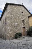 St. Agostino Church. Bevagna. Umbria. — Stock Photo