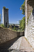 Panoramic view of Gubbio. Umbria. — Stock Photo