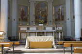 Interior Church. Castiglione del Lago. Umbria. — Stock Photo