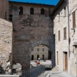 Porta Consolare. Spello. Umbria. — Stock Photo