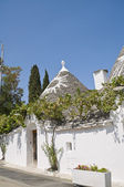 Trullo. Alberobello. Apulia. — Stock Photo