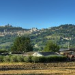 Panoramic view of Assisi. Umbria. — Stock Photo #3914166