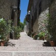 Alleyway. Assisi. Umbria. — Stock Photo
