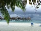 Tropical thunderstorm — Stock Photo