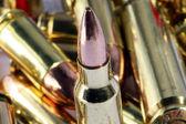 Various bullets / artillery — Stock Photo
