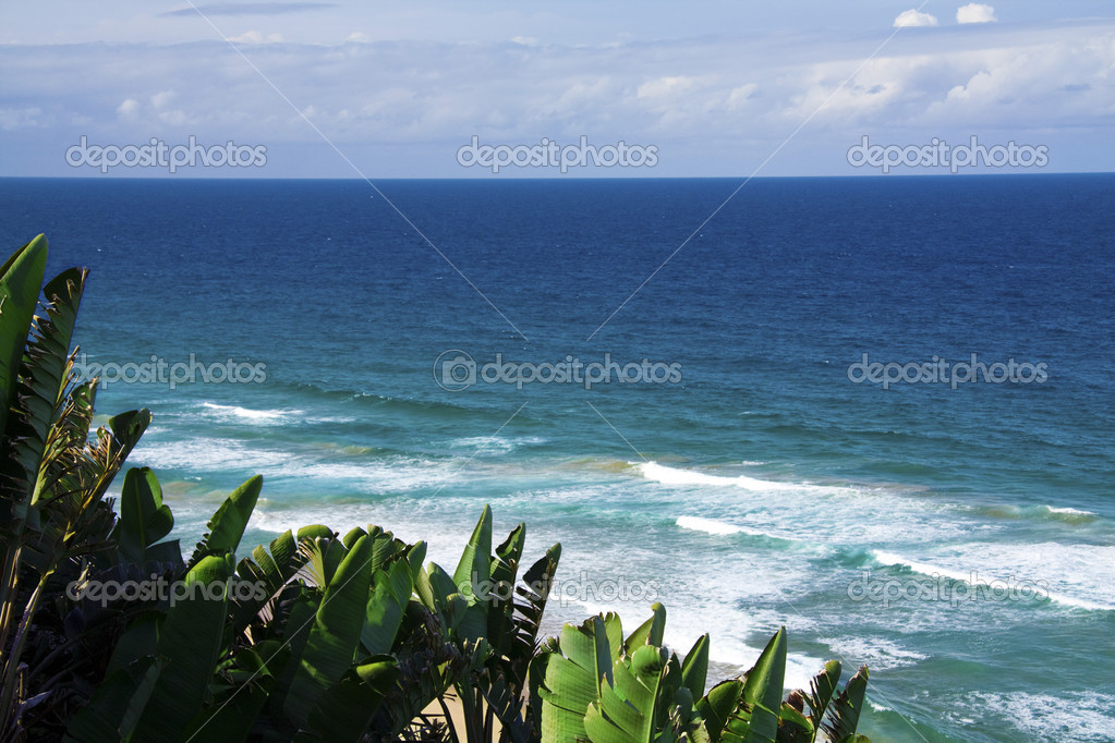 A Viewpoint from a coastal resot in Southern Mozambique — Stock Photo #3016357