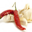 Royalty-Free Stock Photo: Chilli and Garlic
