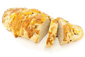 Cheese and Onion Bread — Stock Photo