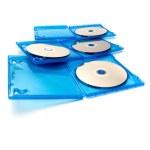 Blu-ray disc in box — Stock Photo