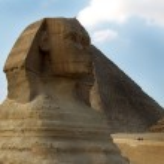 Sphinx. Giza. Egypt — Stock Photo