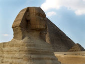 Sphinx. Giza. Egypt — Stock Photo