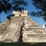 Pyramid Maya — Stock Photo