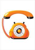 Telephone — Stockvektor