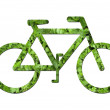 Ecological bicycle — Stock Photo