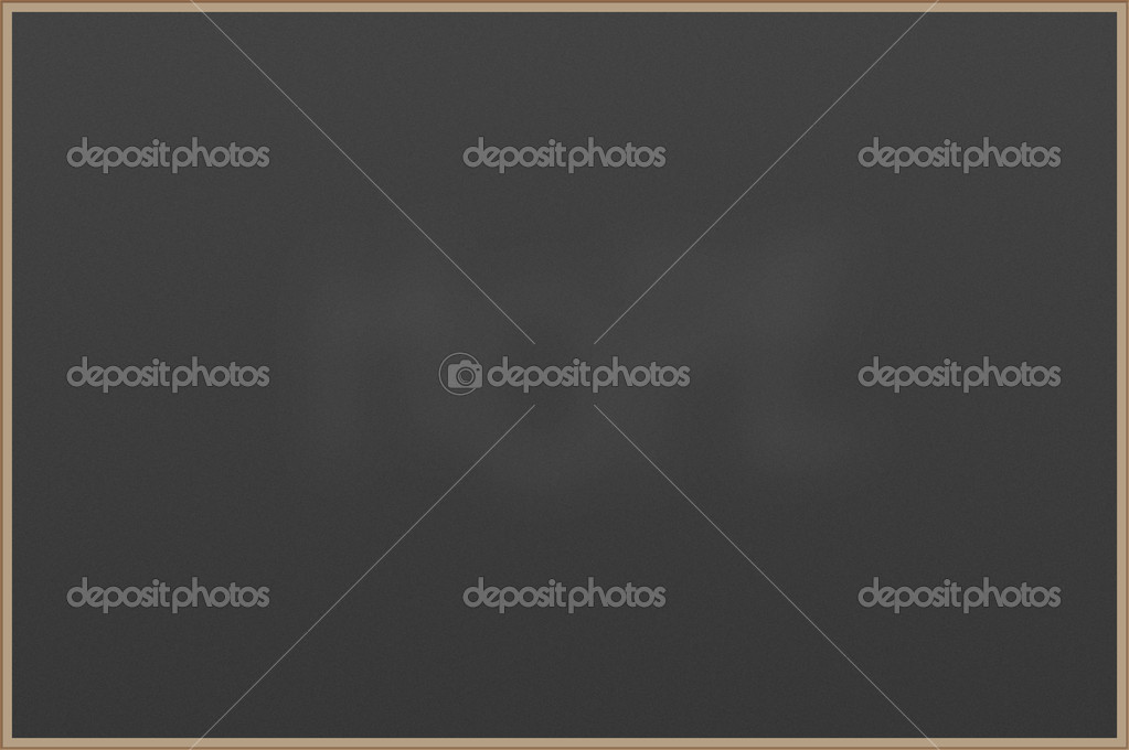Blank chalkboard with wooden frame — Stock Photo #3012818