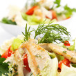 Chicken salad - Stock Photo