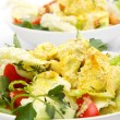 Chicken salad with curry — Stock Photo #3027431