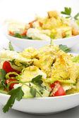 Salada de frango com curry — Fotografia Stock