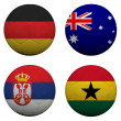 Stock Photo: World Cup Group D
