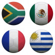 World Cup Group A — Stock Photo