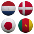 Stock Photo: World Cup Group E