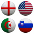 Royalty-Free Stock Photo: World Cup Group C