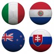 World Cup Group F — Stock Photo