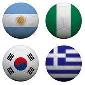 World Cup Group B — Stock Photo