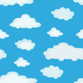 Cloudy background — Stock Vector