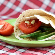 Vegetarian wrap — Stock Photo