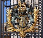 Buckingham palace gate — Stock Photo