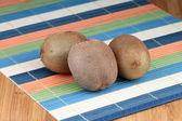 Bit mulberry paj gräddavredning — Foto de Stock