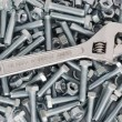 Stock Photo: Screw wrench