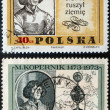 Nicolaus Copernicus postage stamp - Stock Photo