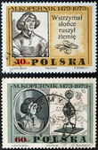 Nicolaus Copernicus postage stamp — Stock Photo