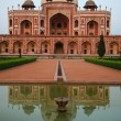Humayun tomb in New Delhi — Stock Photo