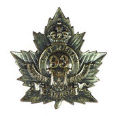 Kanadensisk militär medalj — Stockfoto
