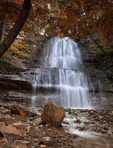Tiffany Falls Dundas Valley, Ontario — Stock Photo