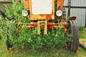 Agricultural, Tractor — Stock Photo