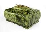 绿石箱 — 图库照片