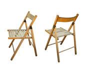 Garten sitz stuhl in verschiedenen ansichten — Stockfoto