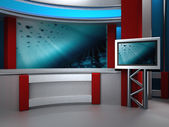 Studio tv — Stockfoto
