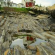 Reflection of Pemaquid Point Lighthouse — Stock Photo