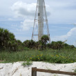 Boca Grande Rear Range Lighthouse — Stock Photo