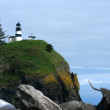 Rocky View of Cape Disappointment — Stock Photo