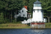 Doubling Point Lighthouse — Stock Photo