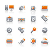 Computer & Devices / Graphite Series — Stock Vector